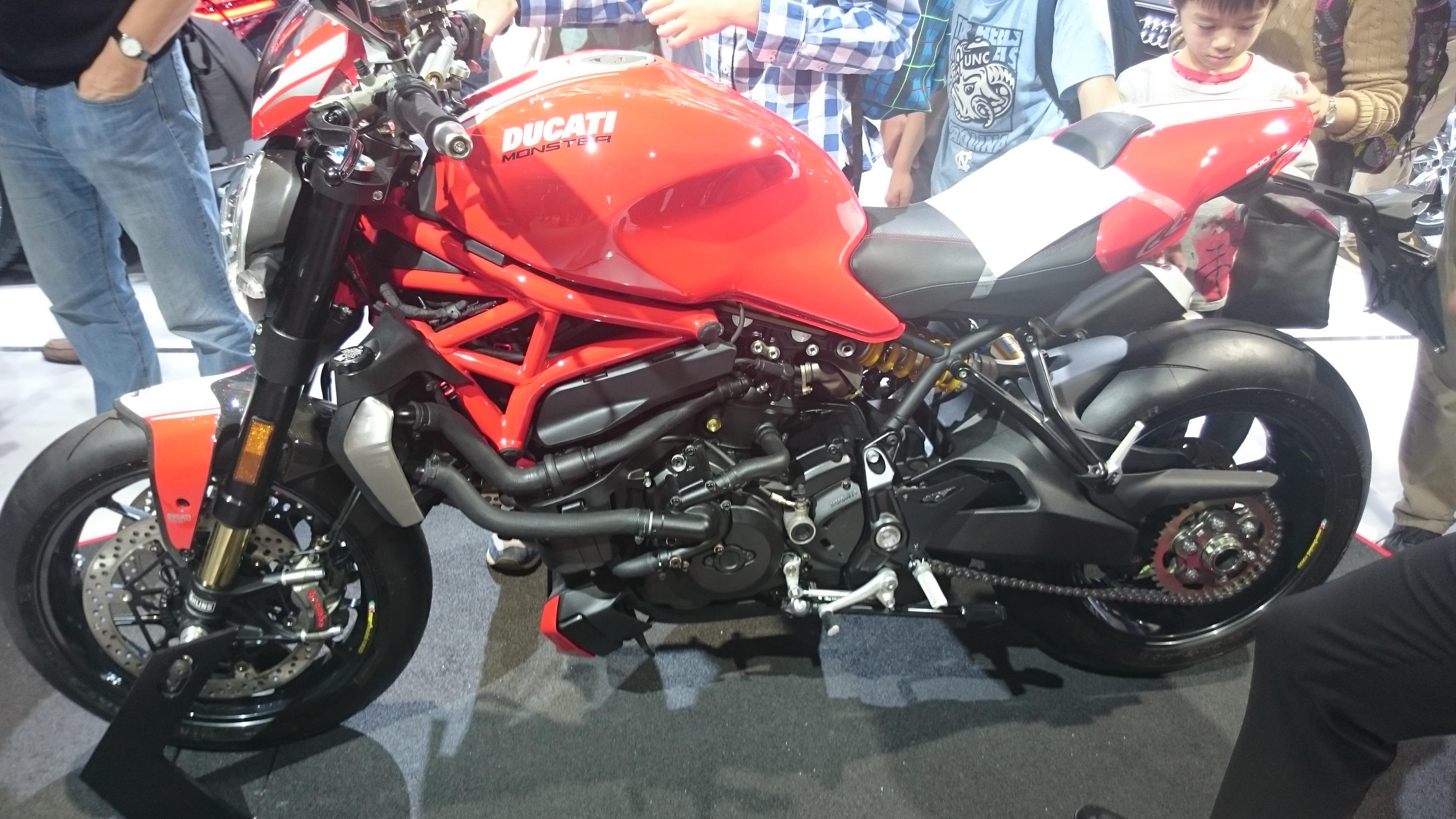Foto normal Ducati Monster #VidePan en #IAA2015