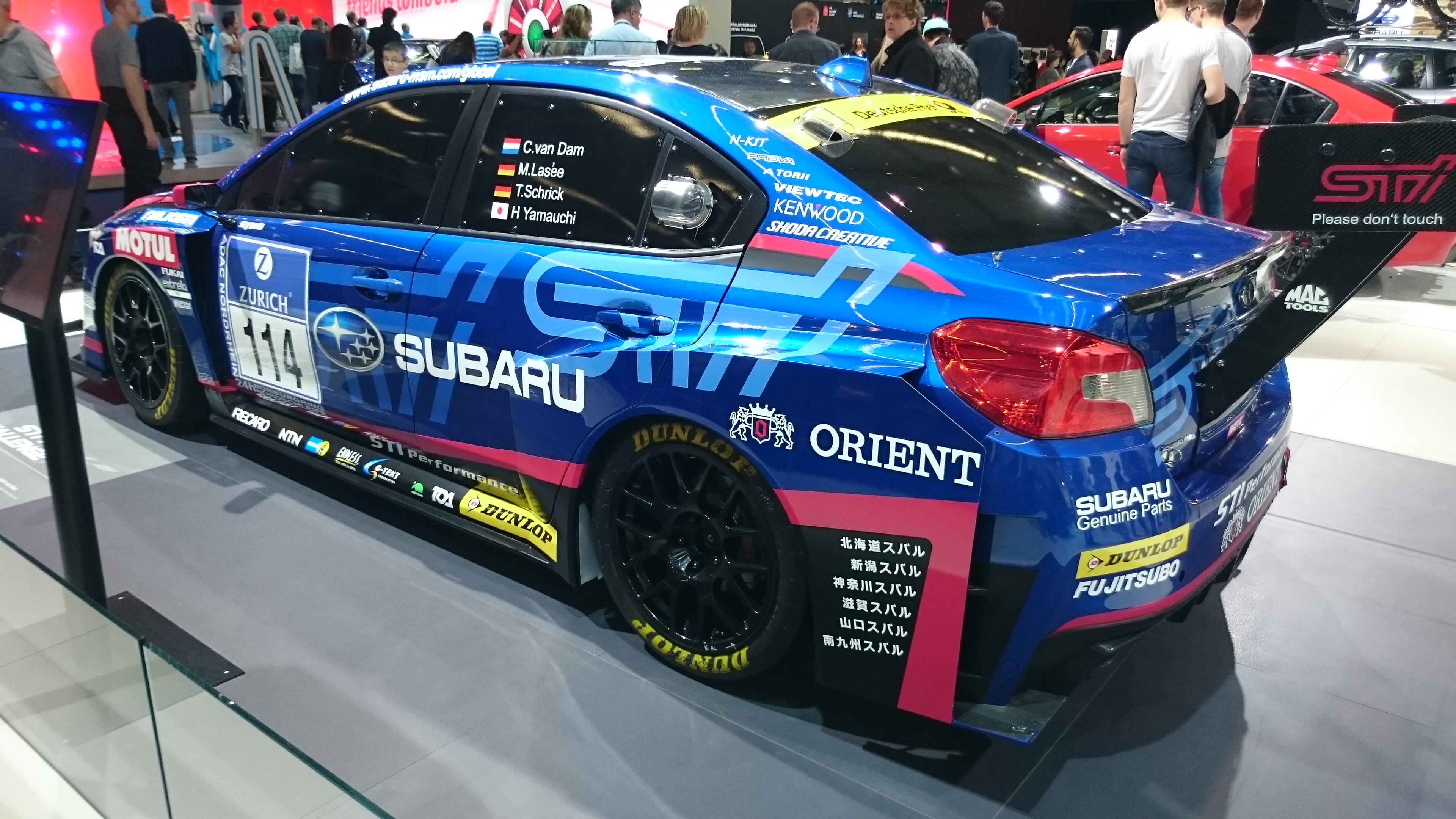 Fotos normales del Stand de Subaru en el IAA2015 #VidePan en #IAA2015
