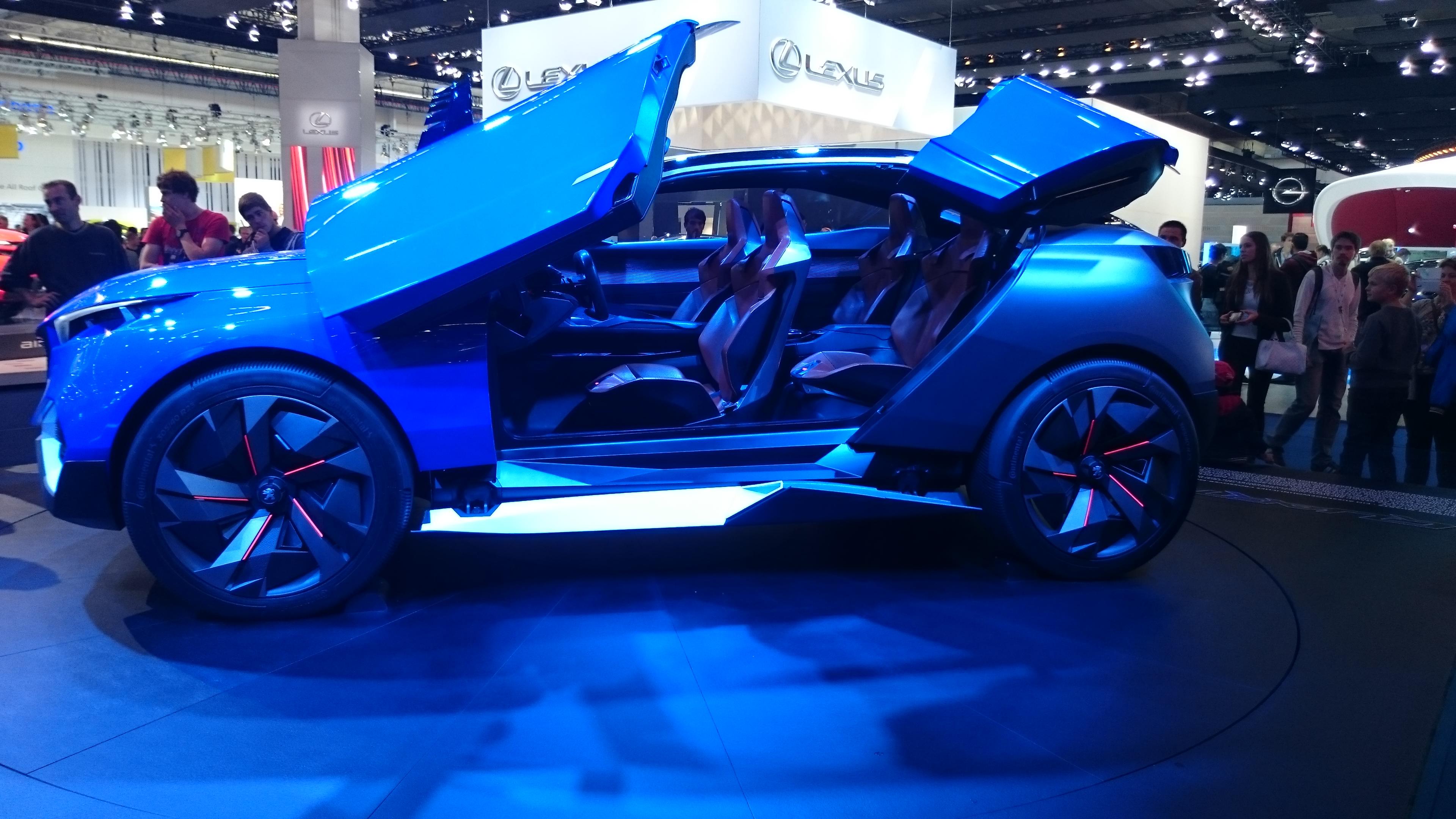 Foto normal del Peugeot Quartz Concept #VidePan en #IAA2015