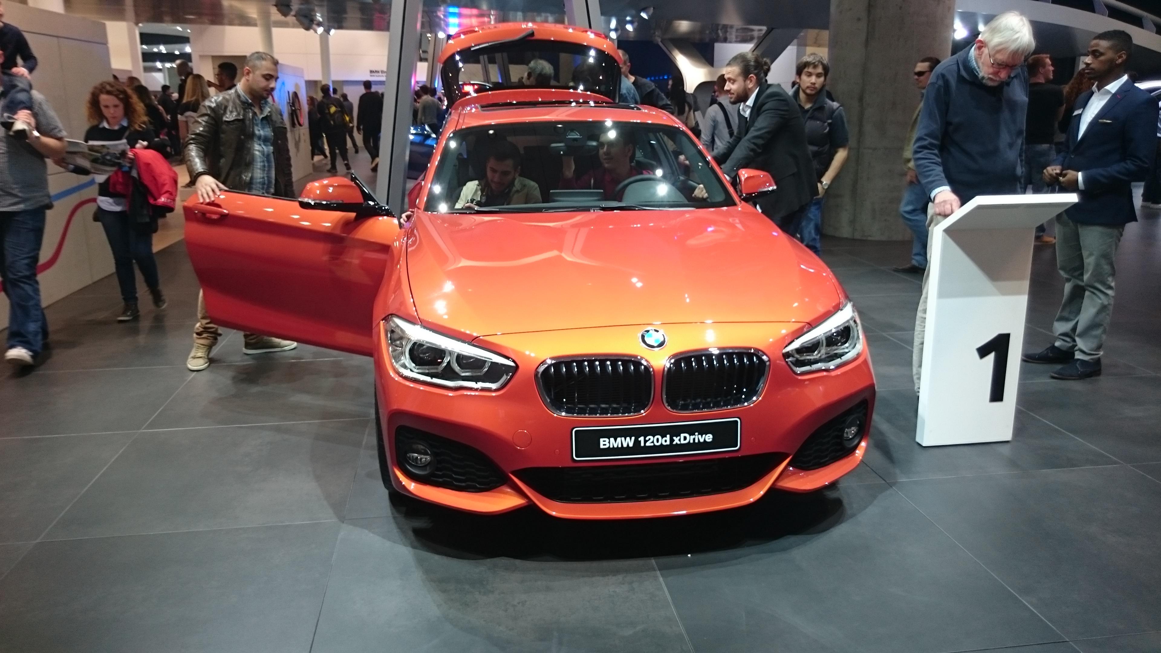 Fotos normales de varios BMW en el IAA2015  #VidePan en #IAA2015