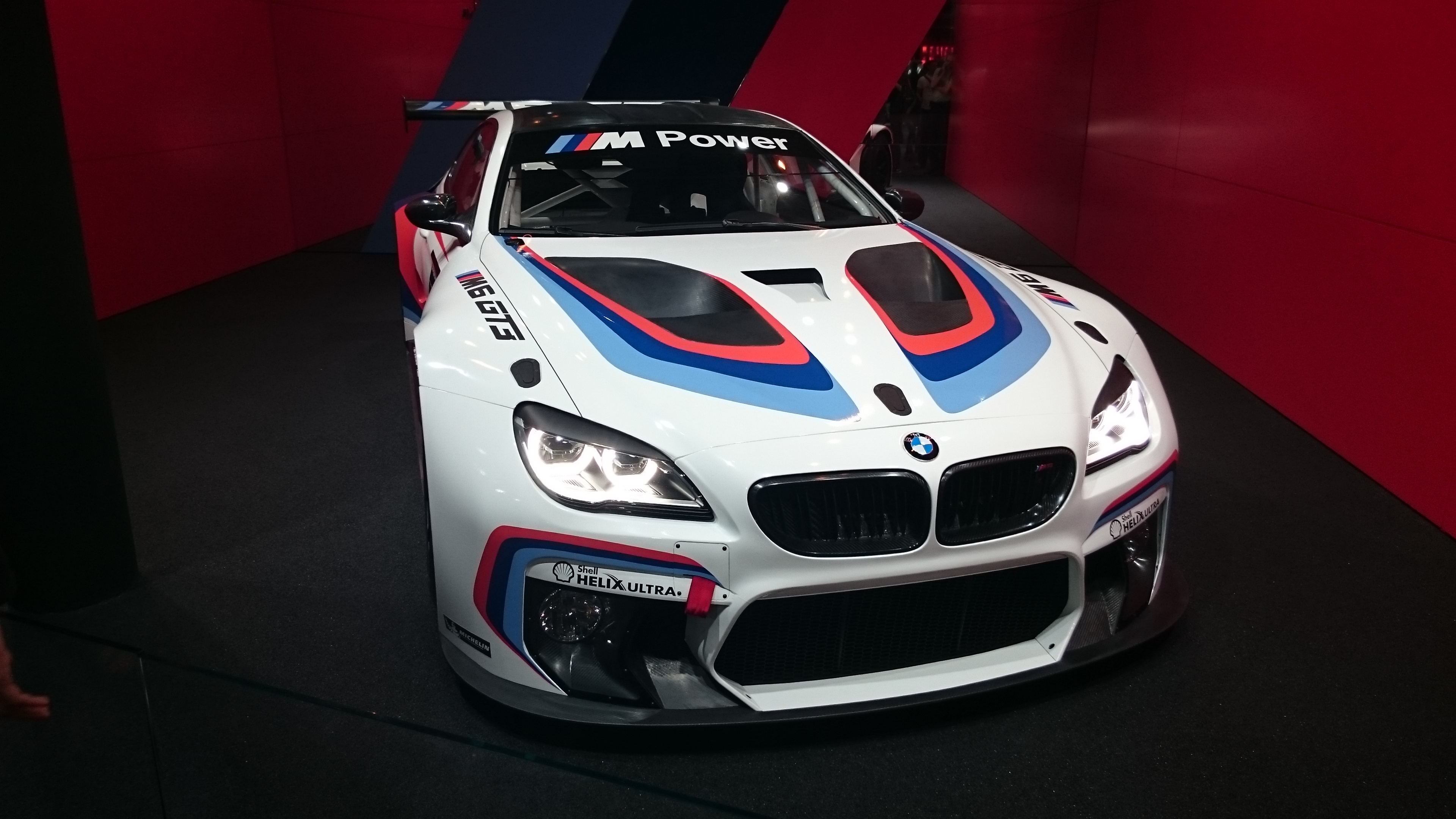 Fotos normales del BMW M6 GT3 #VidePan en #IAA2015