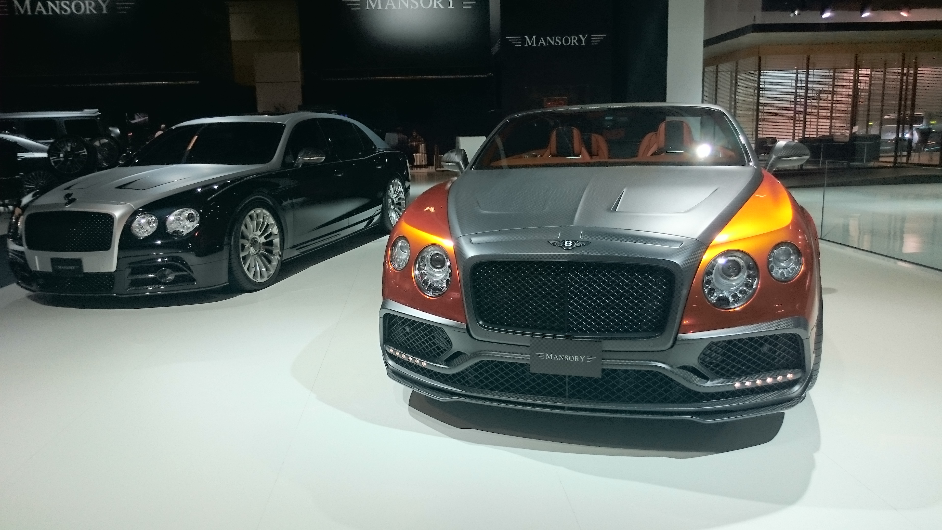 Fotos 360 del Bentley GTC SPEED MANSORY 2016 #VidePan en #IAA2015