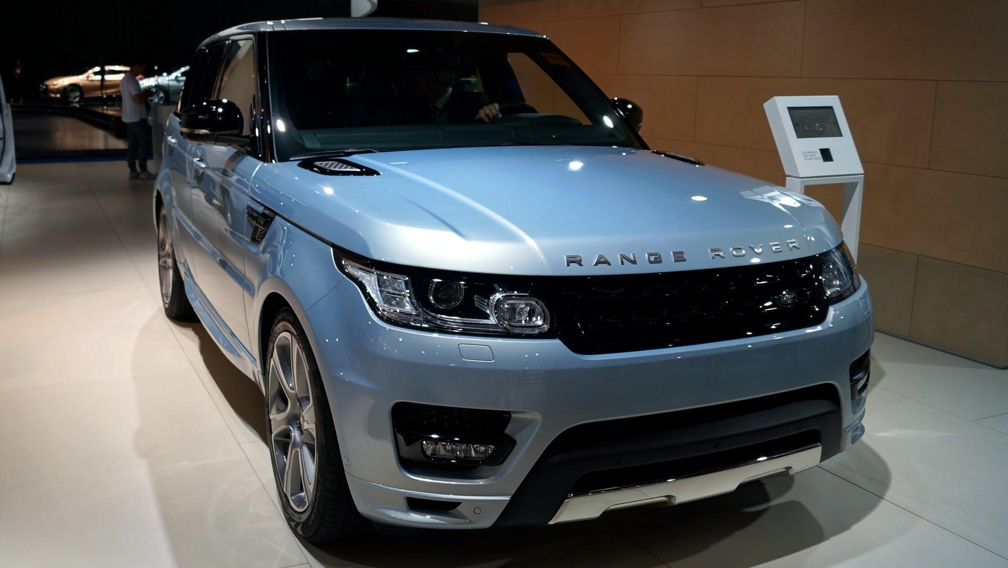Fotos 360 del Range Rover Sport #VidePan en #IAA2015
