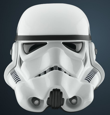 Fotos 360 del casco Stormtrooper #VidePan #FacetheForce #StarWars #Madrid