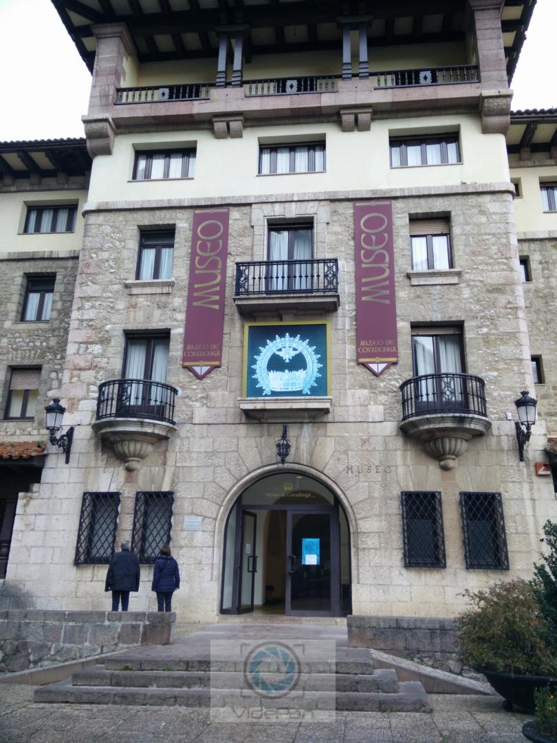 Fotos 360 Museo de Covadonga. #VidePan por #Asturias