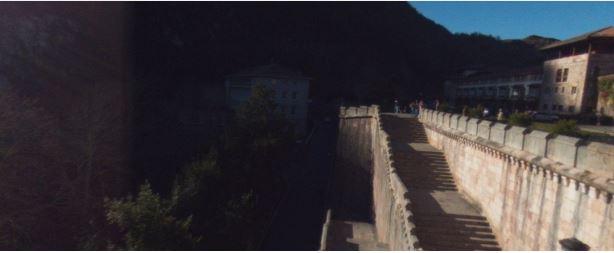 Fotos 360 Vistas laterales de la Basílica de Covadonga. #VidePan por #Asturias