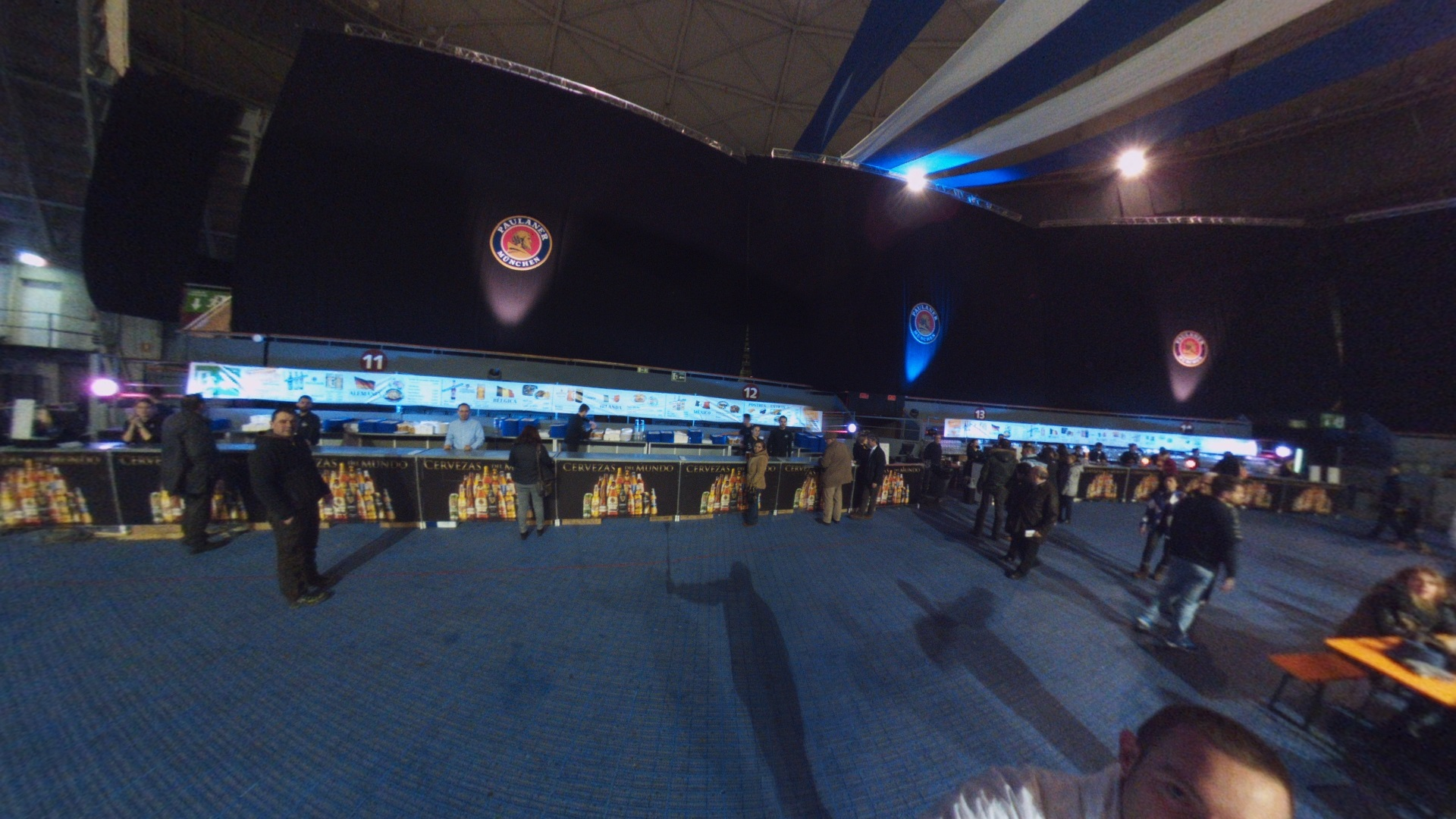Fotos 360 Barras de la feria de la cerveza.#VidePan en #FeriaCervezaMad