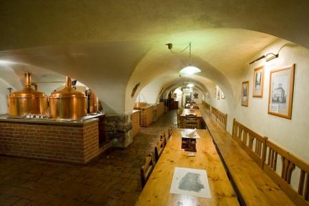 Fotos 360 Cervecería U Medvidku y cerveza de 33 grados. #VidePan por #Praga