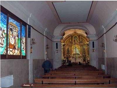Fotos 360 Interior de la Ermita de Morata de Tajuña. #VidePan por #Madrid