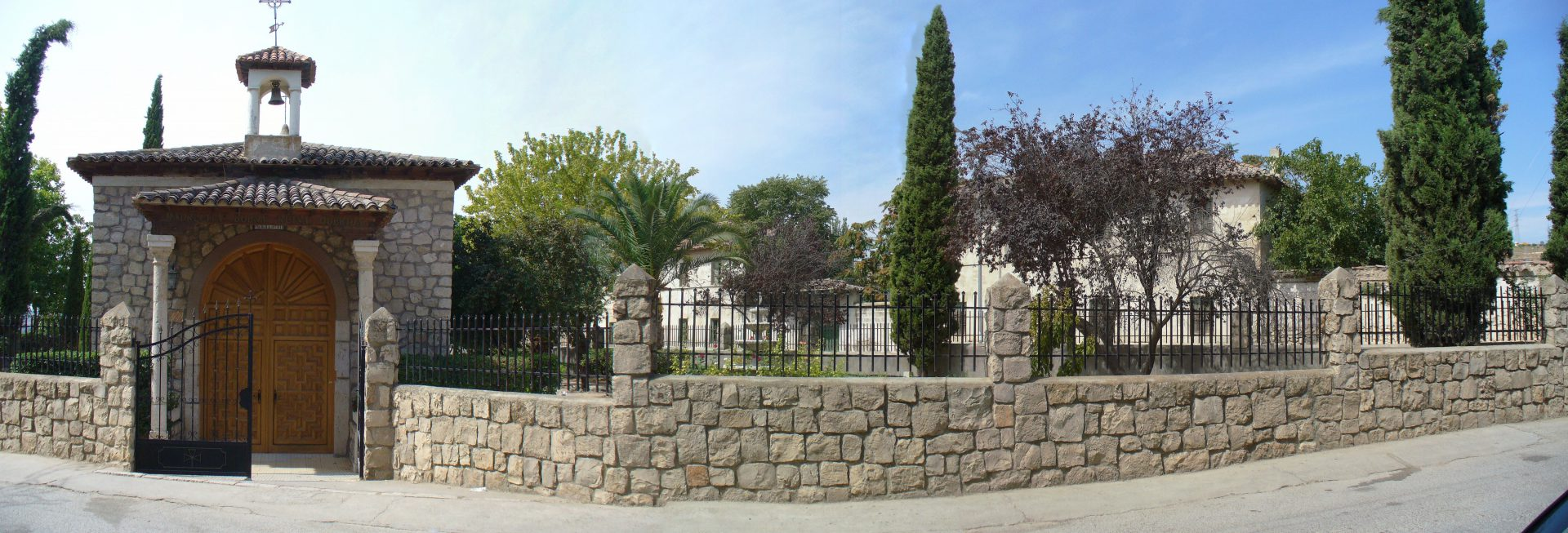 Fotos 360 Ermita de Morata de Tajuña. #VidePan por #Madrid