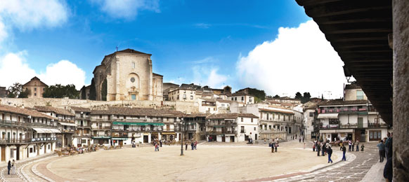 Fotos 360 (2ª Parte) Plaza Mayor de Chinchón. #VidePan por #Madrid
