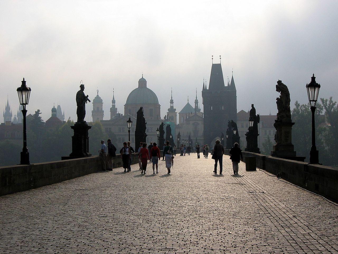 Fotos 360 Puente de Carlos. #VidePan por #Praga