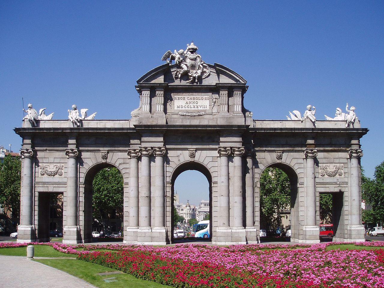 Fotos 360 Puerta de Alcala. #VidePan por #Madrid
