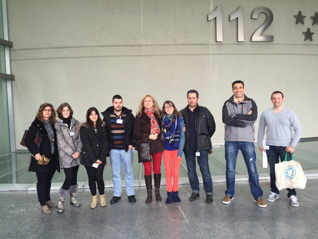 Fotos 360 Ganadores de la visita al @112cmadrid