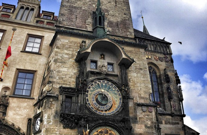Fotos 360 Torre del Ayuntamiento y Reloj Astronómico. #VidePan por #Praga