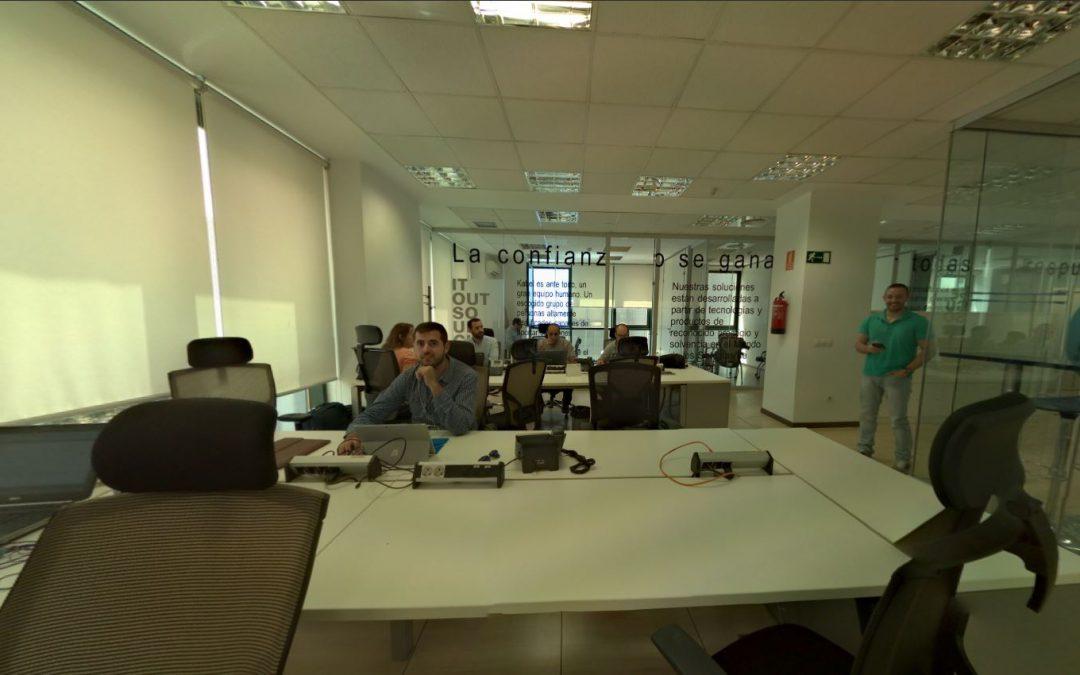 Foto 360 Área de infraestructuras de @KabelSistemas