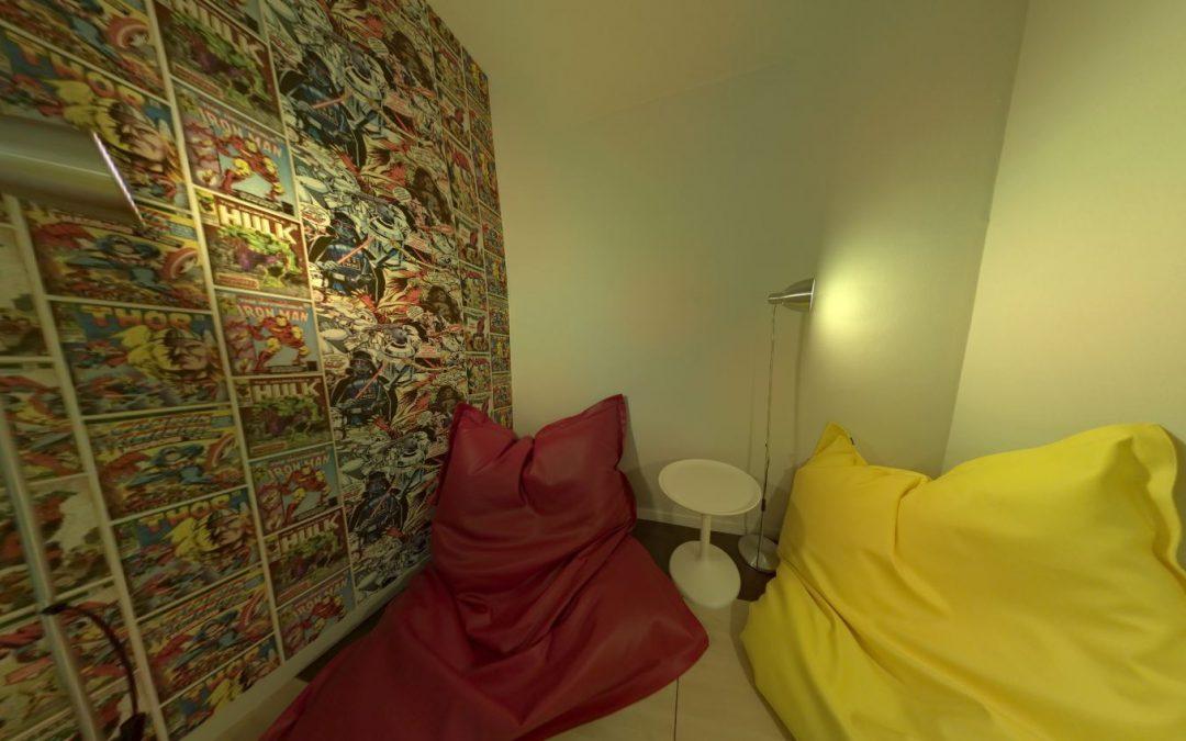 Foto 360 Sala de descanso de @KabelSistemas