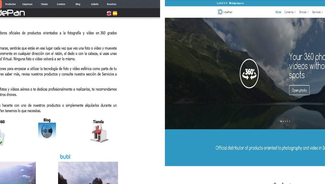 Nueva Web de VidePan
