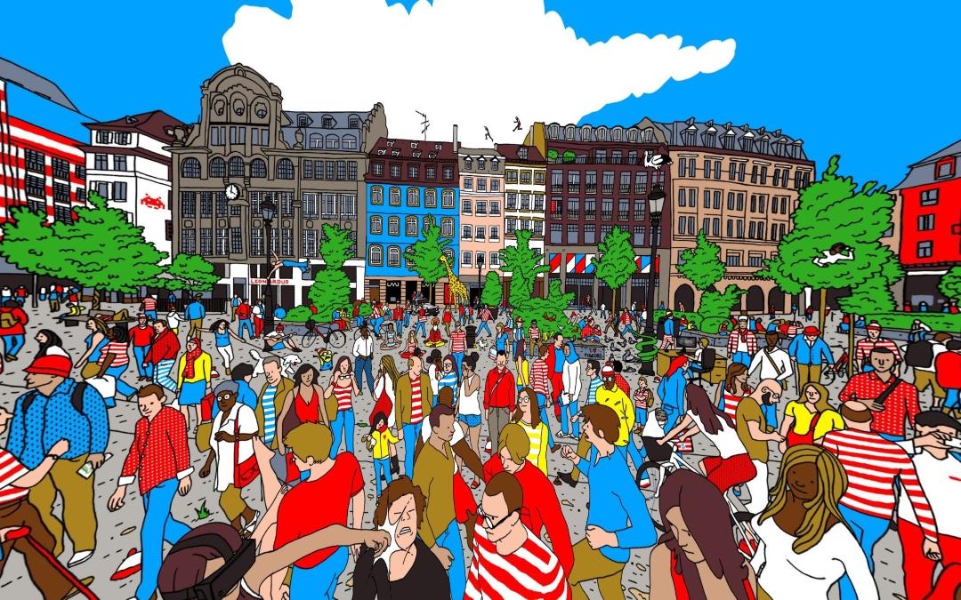 ¿Dónde está Wally? en 360 grados