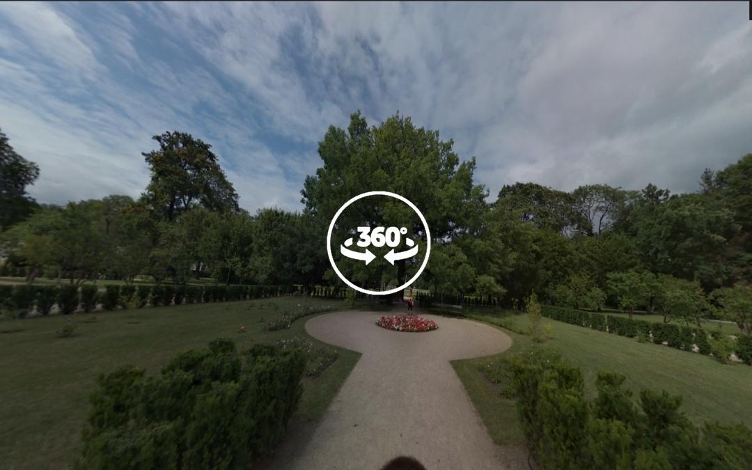 Foto 360 Alrededores del nuevo invernadero real. VidePan en Polonia