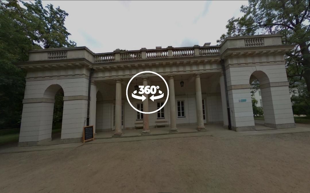 Foto 360 Antiguo Cuerpo de Guardia en Varsovia (Stara Kordegarda). VidePan en Polonia
