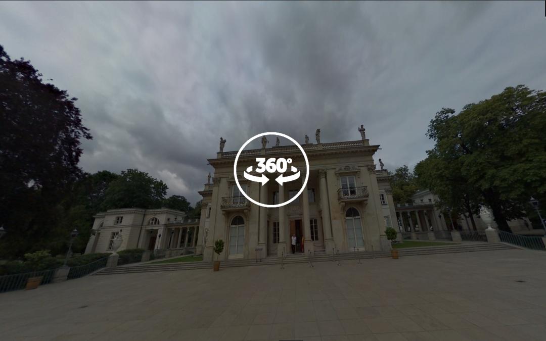 Foto 360 El Palacio en la Isla (Pałac na Wyspie). VidePan en Polonia