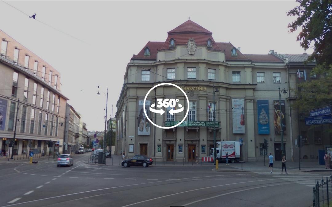 Foto 360 Filarmónica de Cracovia. VidePan en Polonia