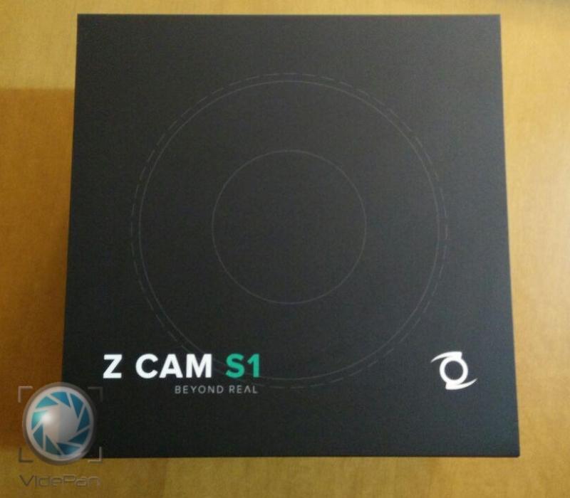 Caja Z CAM S1 Frontal
