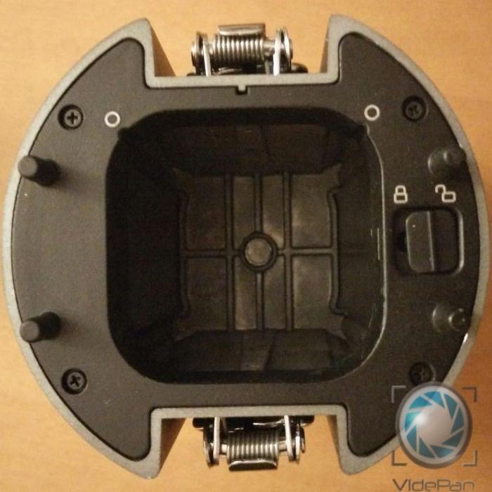 Interior modulo bateria Z CAM S1
