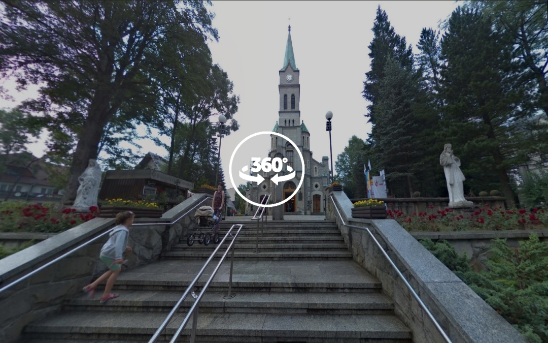 Foto 360 Kościół Świętej Rodziny de Zakopane. VidePan en Polonia