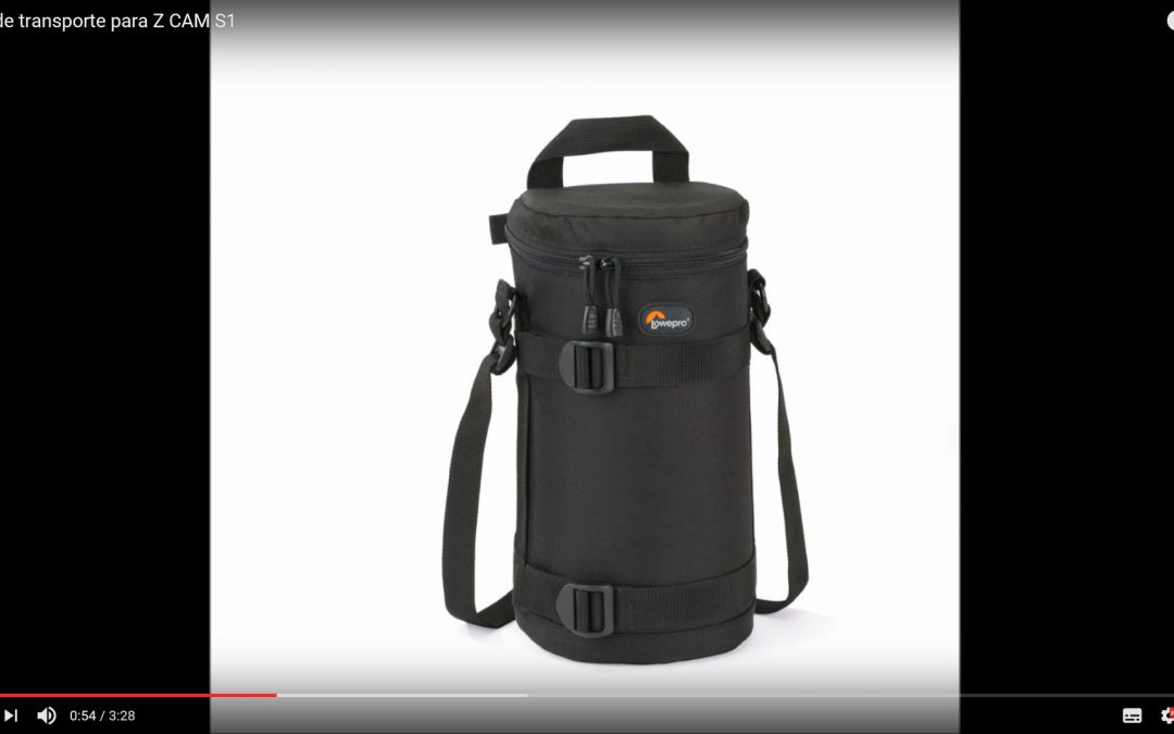 Vídeo Bolsa de transporte para Z CAM S1