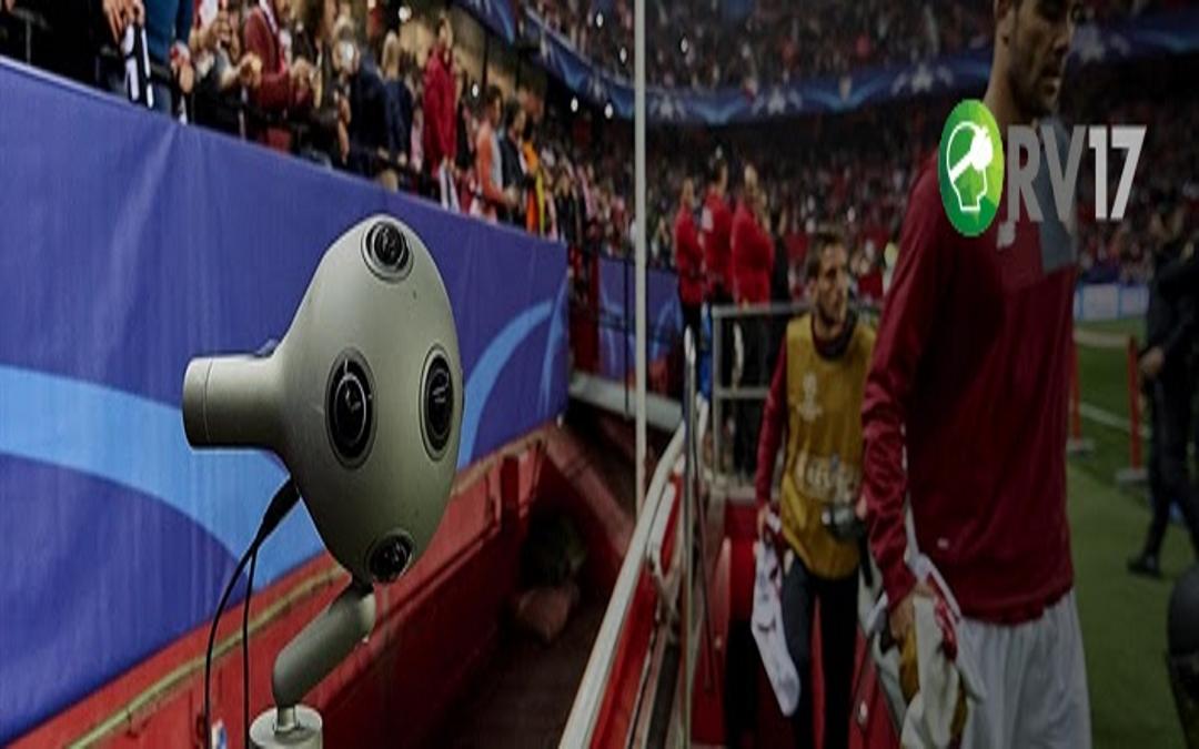 Primera transmisión 360 en directo de la Champions League