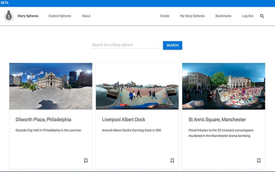 Story Spheres de Google, crea contenido inmersivo vía web con fotos 360 y audio