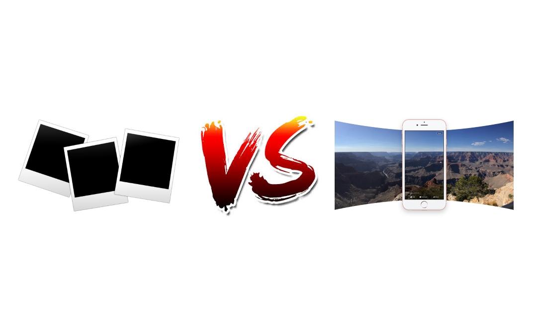 Foto vs foto360