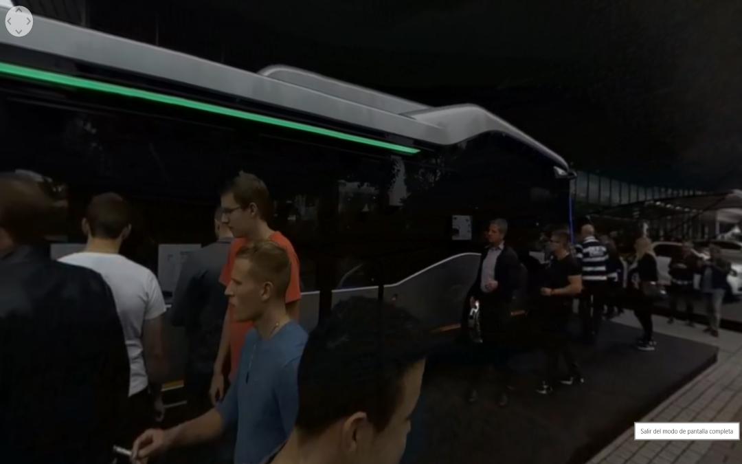 Vídeo 360 Autobus Mercedes-Benz en el IAA 2017