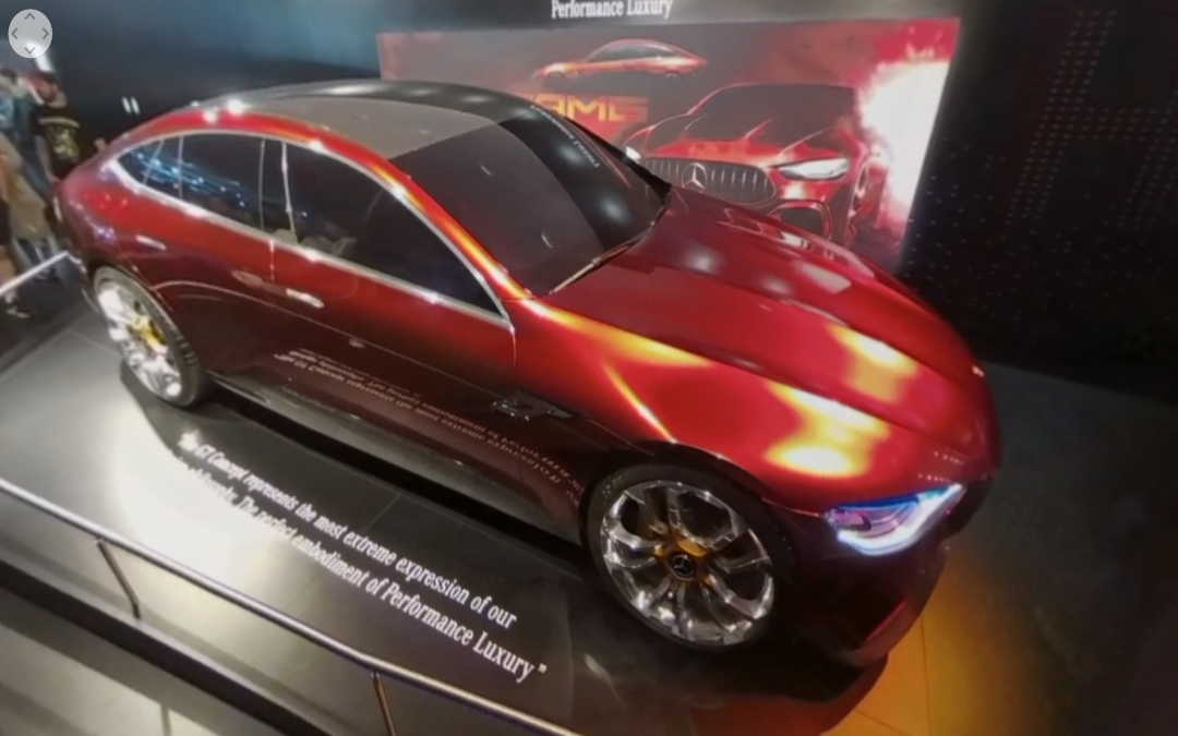 Vídeo 360 Mercedes-AMG GT Concept en el IAA 2017