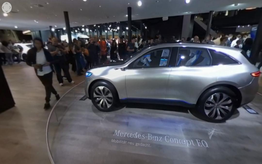 Vídeo 360 Mercedes-Benz Concept EQ en el IAA 2017