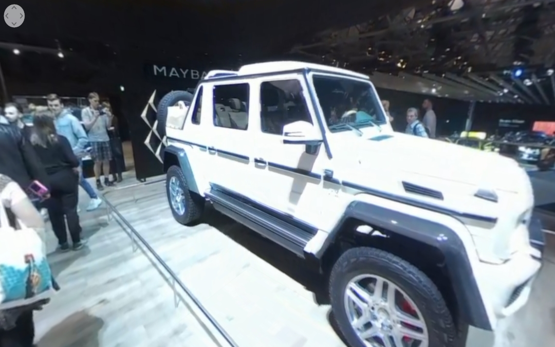 Mercedes-Benz Concept EQA, S 450 4MATIC y Maybach G 650