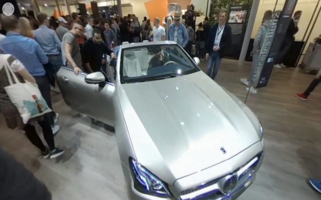 Vídeo 360 Mercedes-Benz E 300 Cabrio en el IAA 2017