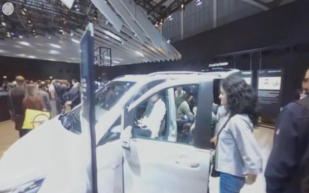 Vídeo 360 Mercedes-Benz V-Class en el IAA 2017
