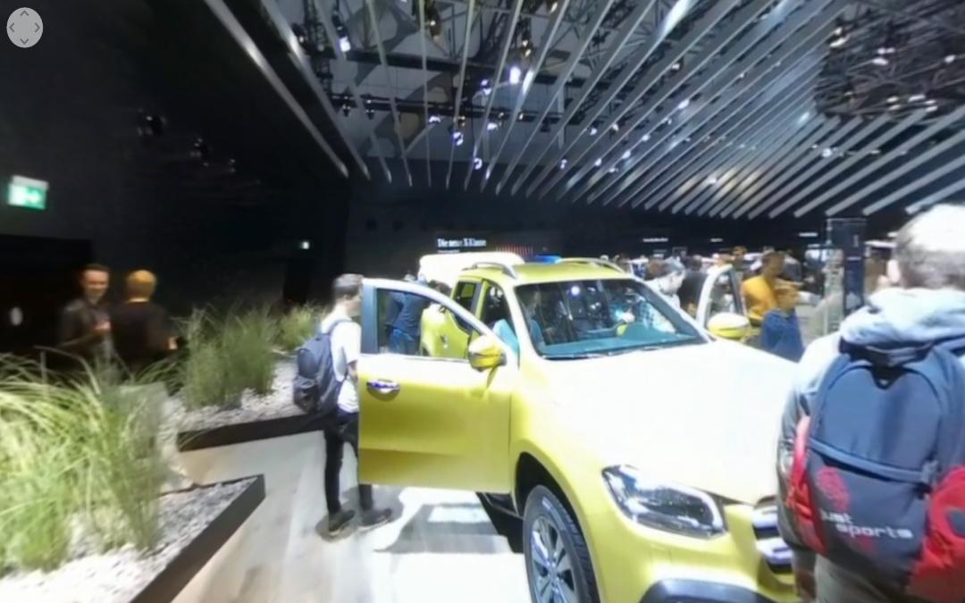 Vídeo 360 Mercedes-Benz X 250 d 4MATIC en el IAA 2017
