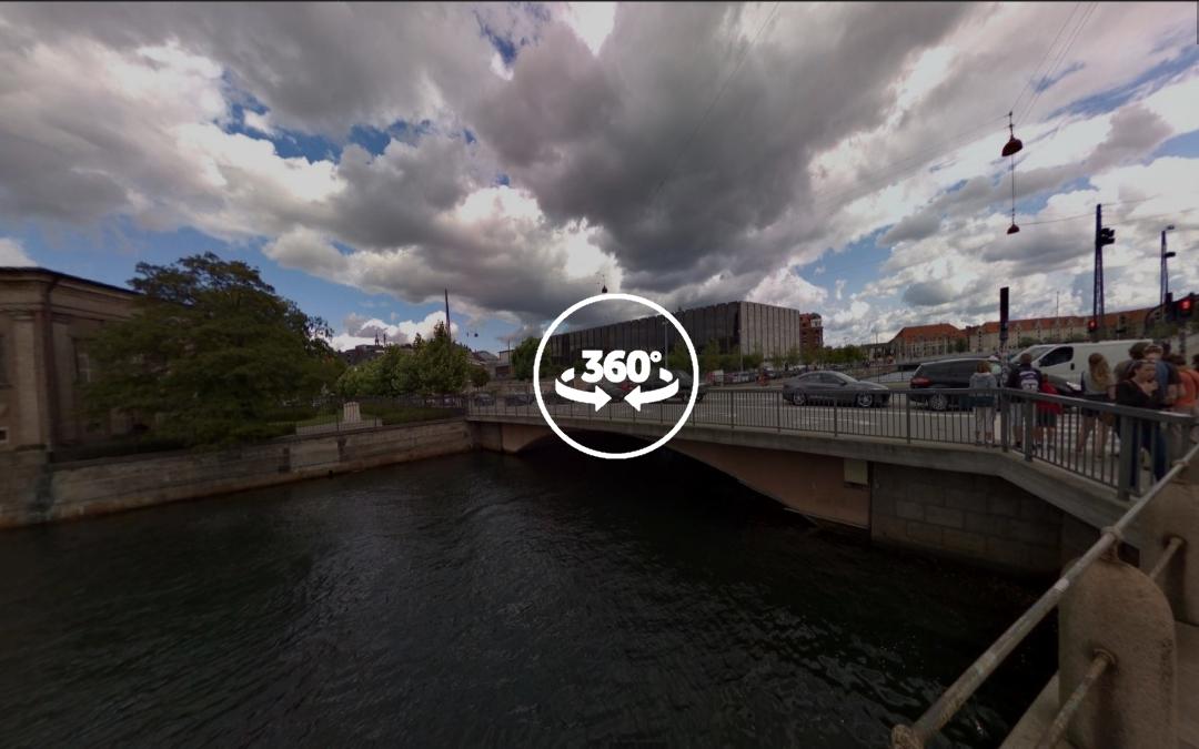 Foto 360 Børsbroen. VidePan en Copenhague