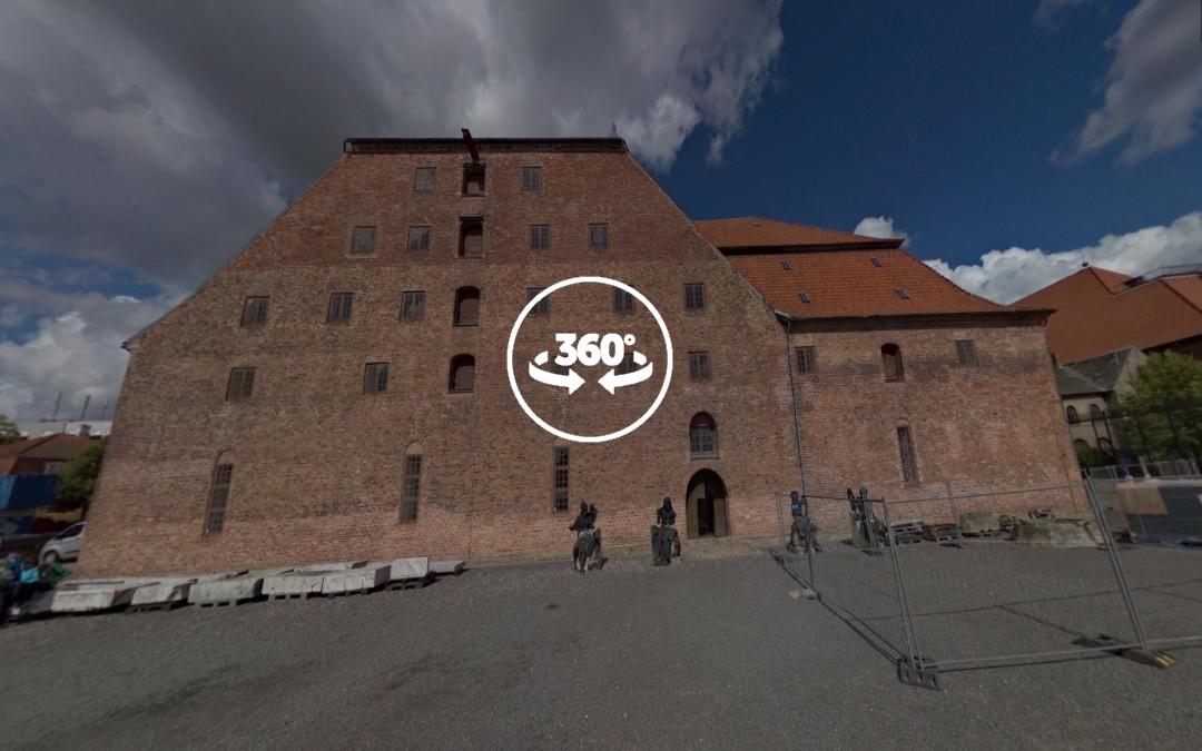 Foto 360 Kongernes Lapidarium. VidePan en Copenhague
