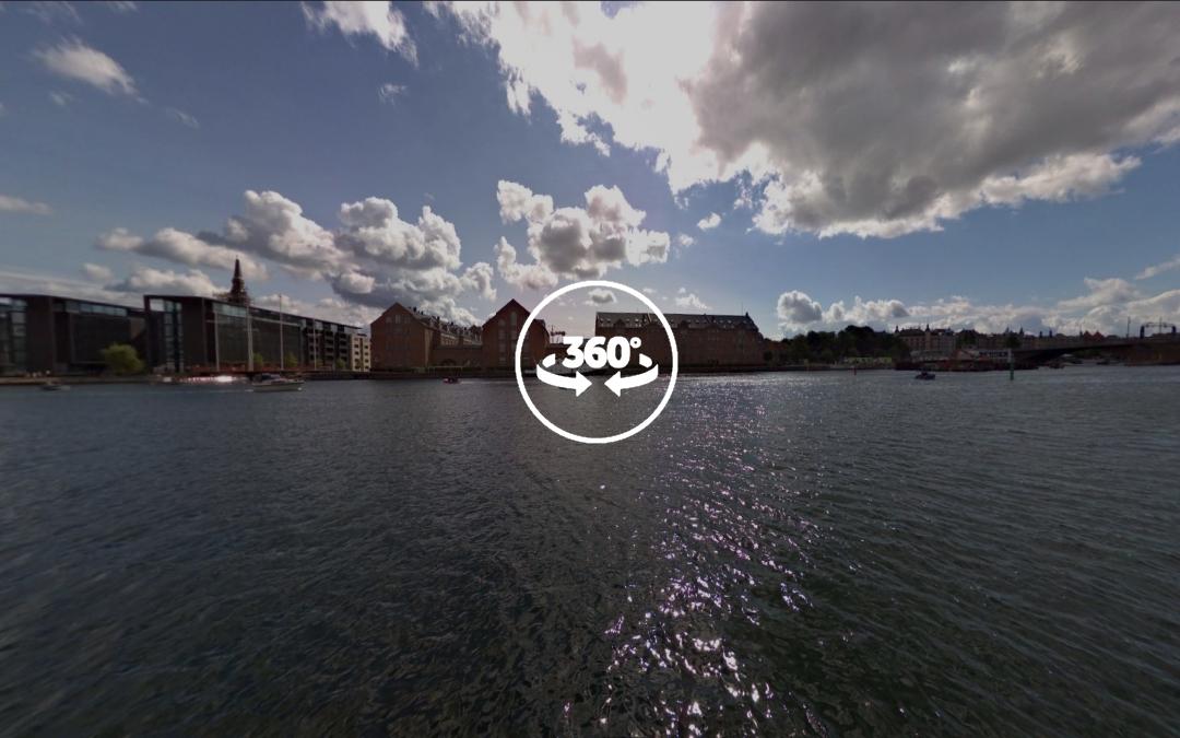 Foto 360 Vistas desde la Det Kongelige Bibliotek. VidePan en Copenhague