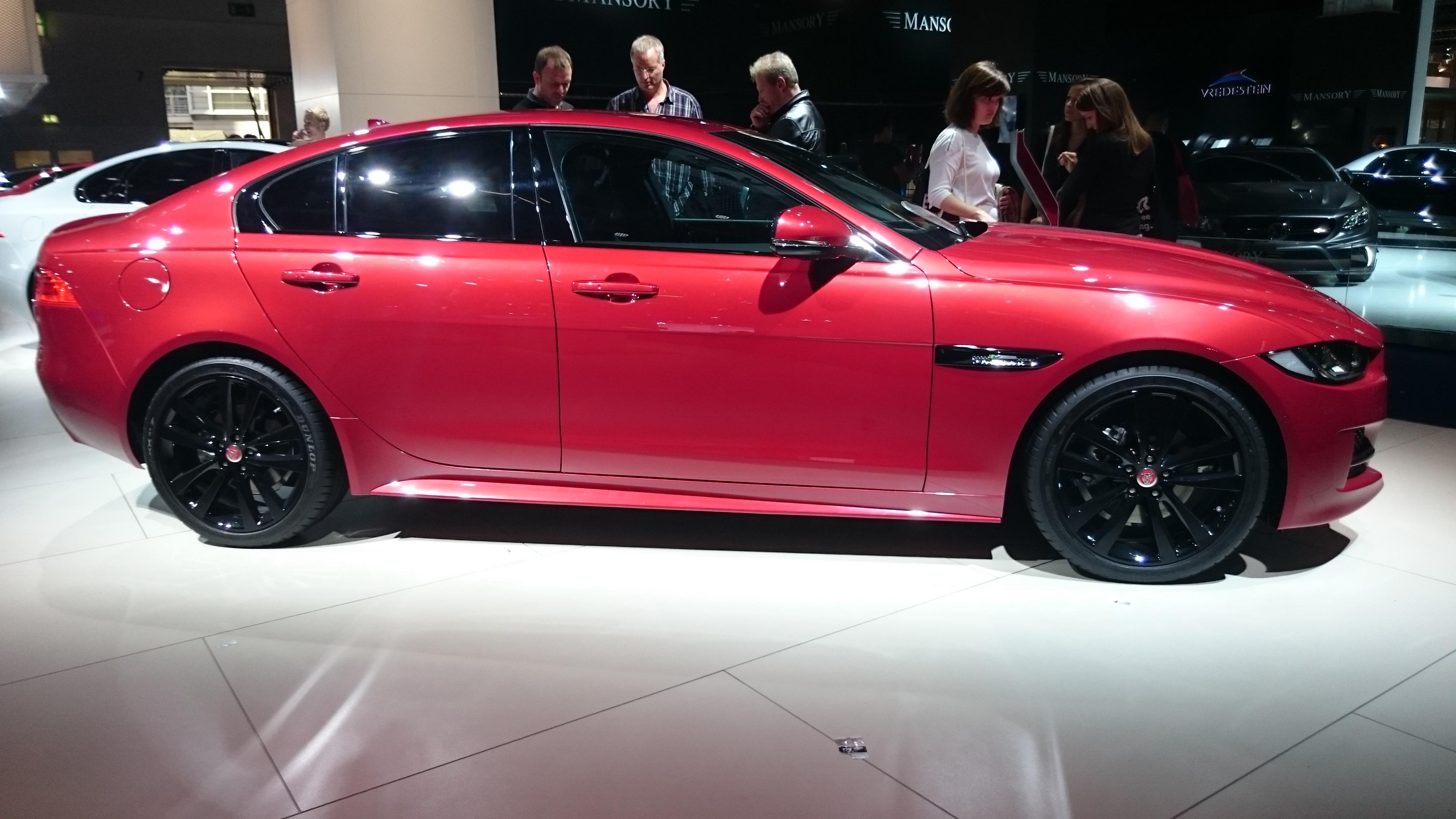 Fotos 360 del Jaguar XE S #VidePan en #IAA2015