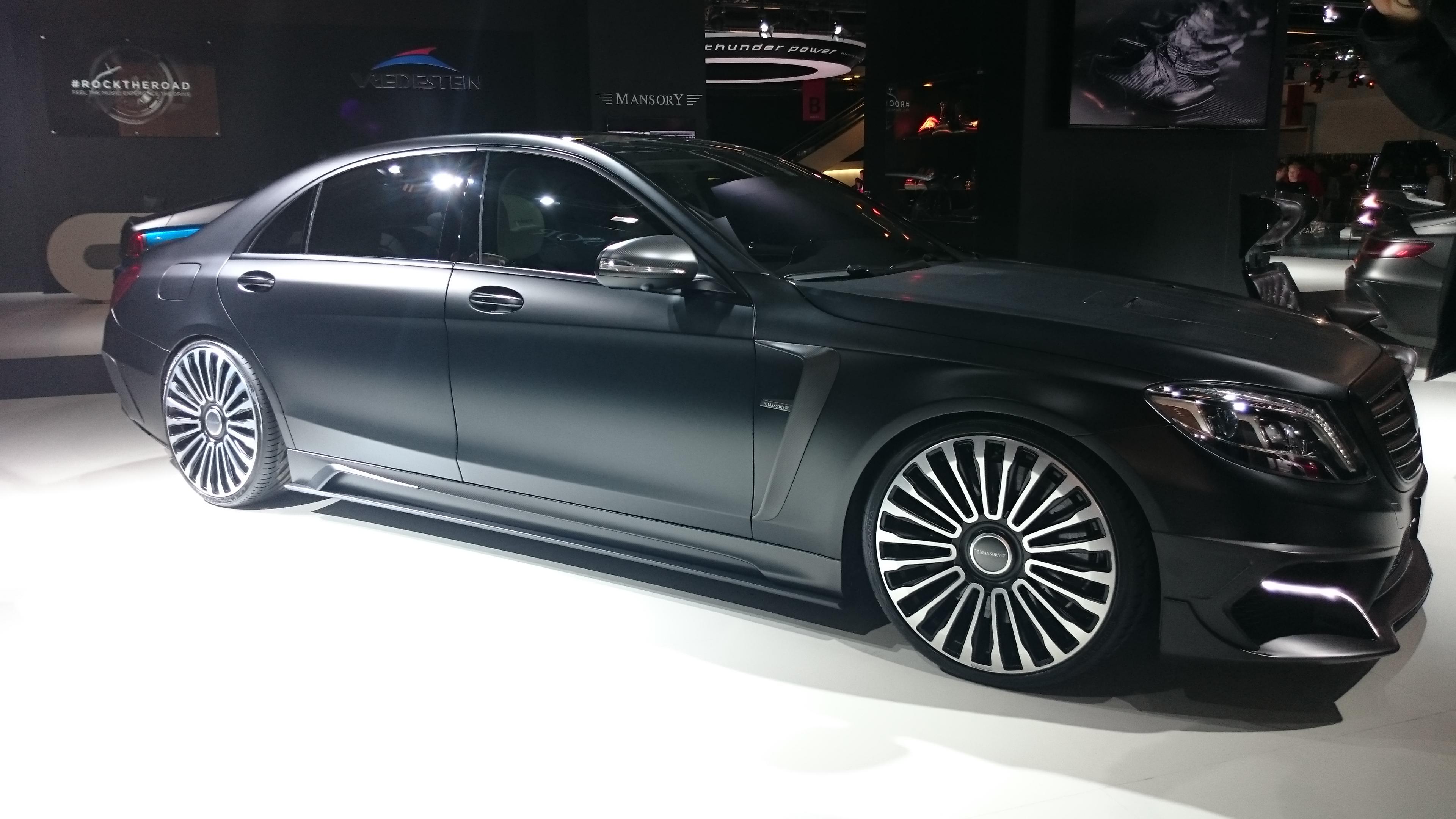 Fotos 360 del Mercedes-Benz S63AMG L MANSORY Black Edition #VidePan en #IAA2015
