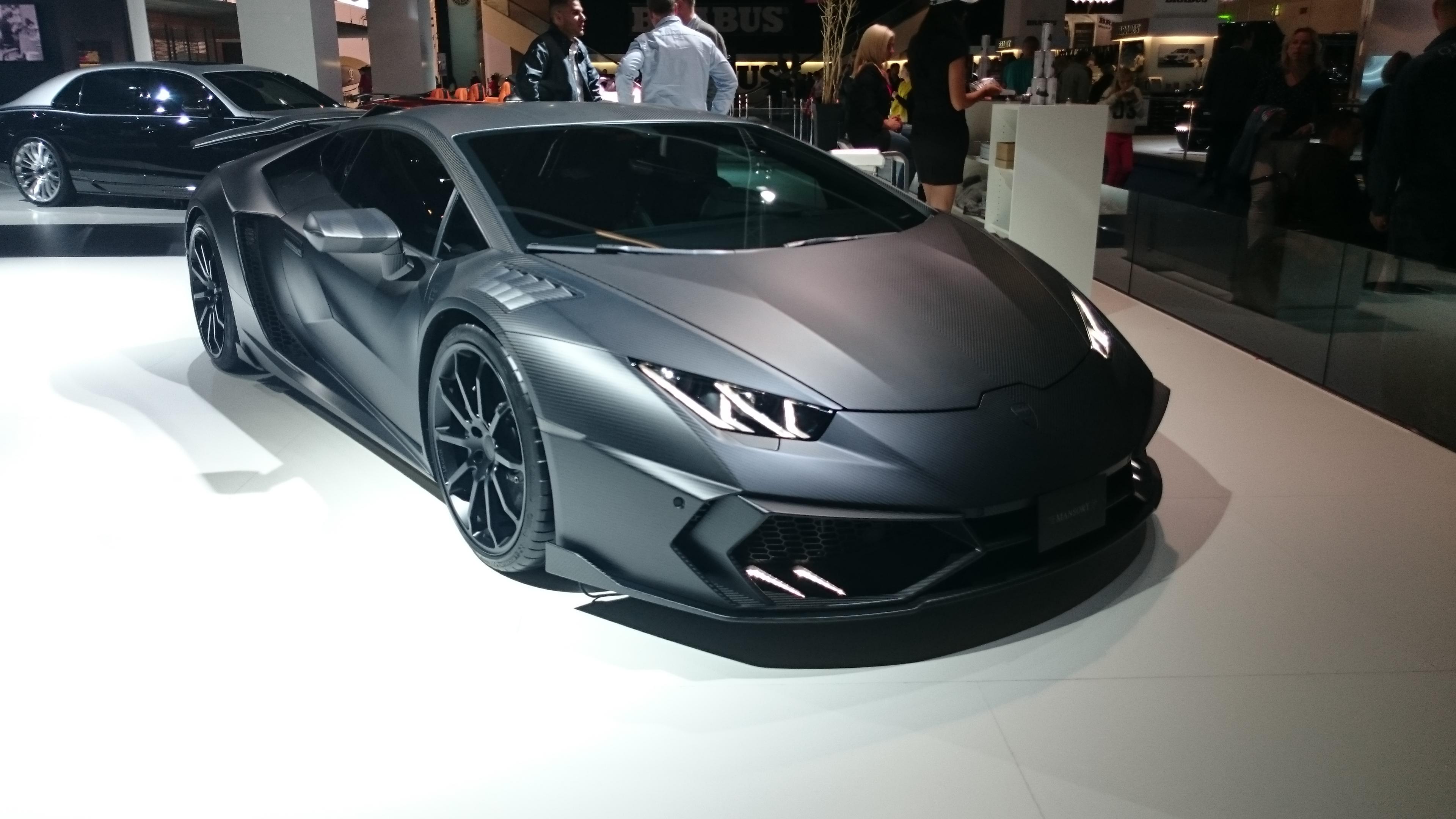 Fotos 360 del Lamborghini MANSORY CARBONADO BLACK STAR #VidePan en #IAA2015