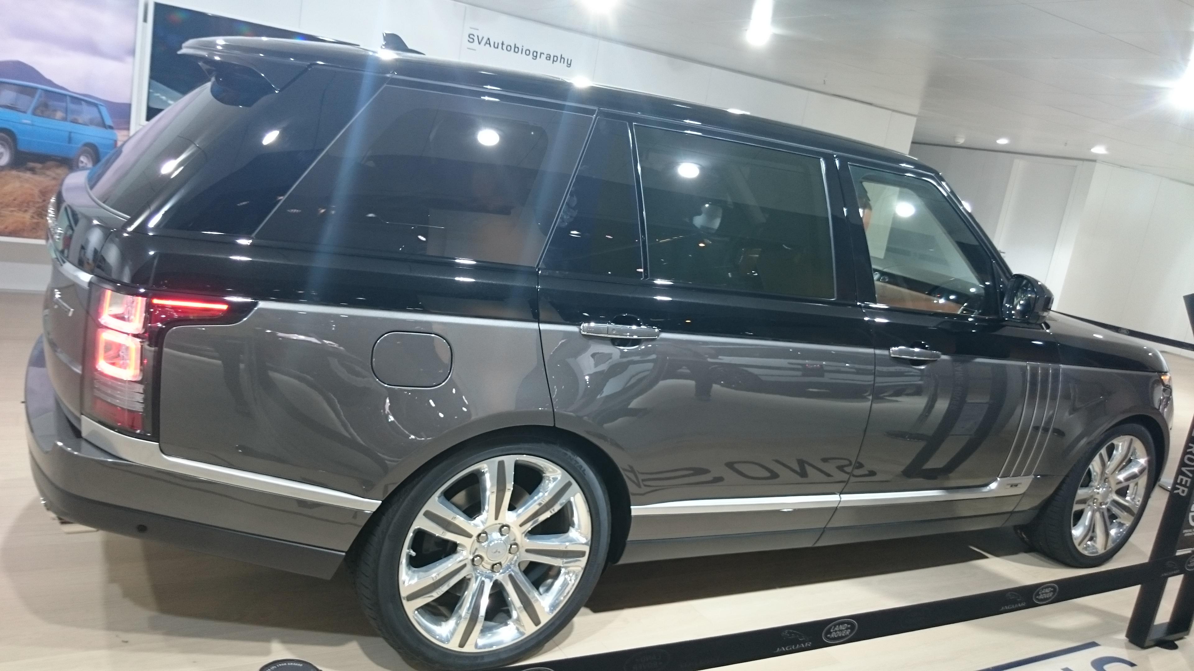 Fotos 360 del Range Rover Sentinel #VidePan en #IAA2015