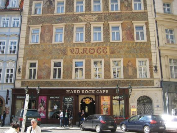 Fotos 360 Hard Rock Café de Praga. #VidePan por #Praga