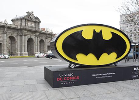 Fotos 360 Símbolo de Batman Clásico. #VidePan por #Madrid